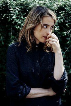 .Adele Haenel pensive