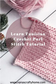 Learn how to crochet the Tunisian Purl  stitch with this tutorial! The Tunisian knit crochet stitch creates a fabulous textured fabric that looks knit and has a lot of drape!  Perfect  wearables Crochet Basics, Crochet For Beginners, Free Crochet, Knit Crochet, Crochet Videos, Crochet Tutorials, Knit Purl Stitches, Tunisian Crochet Patterns, How To Purl Knit