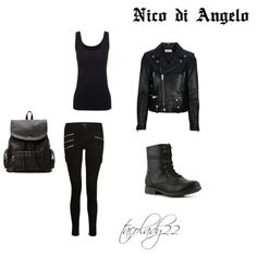 Nico di Angelo-Classic created by-tacolady22