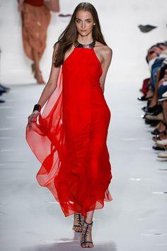 Smartologie: Diane von Furstenberg Spring 2013 Collection - New York Fashion Week New York Fashion, Red Fashion, Fashion Week, Runway Fashion, Fashion Models, Fashion Beauty, Fashion Show, Fashion Design, Review Fashion