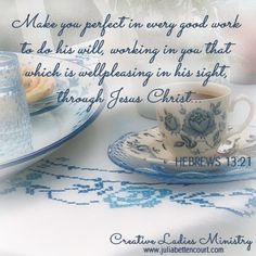 Heres my Cup:  Womens Devotional by Julia Bettencourt.  #ladiesministry  #womensministry