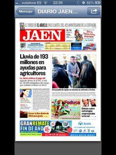 Portada del Diario Jaén