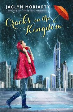 The Cracks in the Kingdom by Jaclyn Moriarty | The Colors of Madeleine, BK#2 | Publisher: Arthur A. Levine | Publication Date: March 25, 2014 | www.jaclynmoriarty.com | #YA #Fantasy