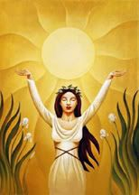 Paivatar - Finnish  - Goddess Of Light