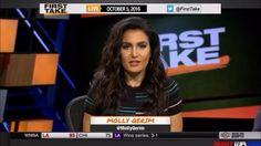 Molly Qerim in Espn First Take