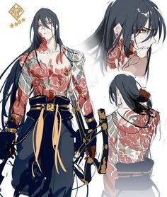 manga art Startseite / T - art Fantasy Character Design, Character Design Inspiration, Character Concept, Character Art, Badass Anime, Japon Illustration, Kids Collection, Handsome Anime Guys, Chica Anime Manga