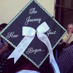 Graduation cap idea.