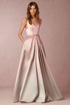 Blush Ombre Lorraine Dress | BHLDN