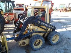 All States Ag Parts has a New Holland Skid Steer Loader salvaged for used parts. All States Ag Parts guarantees used parts for 1 year. New Holland Tractor, Skid Steer Loader, Tractor Parts, Thing 1, Used Parts, Monster Trucks, Yard, The Unit, Patio