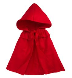 Siaomimi Red Riding Hood Cape: Who's Afraid of the Big Bad Wolf available at Barneys New York for $56