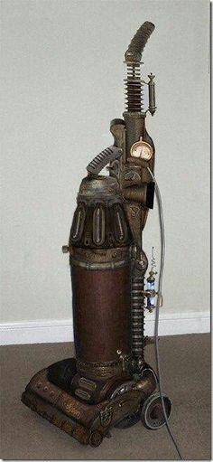 Steampunk vacuum via Rebels Market