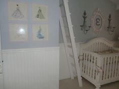 Vintage barbie room | The framed prints contain vintage Barbie prints that were torn out of ...
