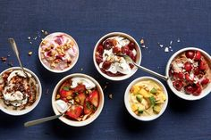 Savory or sweet mix-ins punch up the nutritional profile of Greek yogurt.