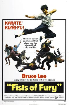THE BIG BOSS ALSO KNOWN AS FIST OF FURY MOVIE POSTER BRUCE LEE KUNG-FU