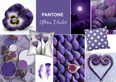 Ultra Violet - Pantone Color of the Year 2018 - mood board