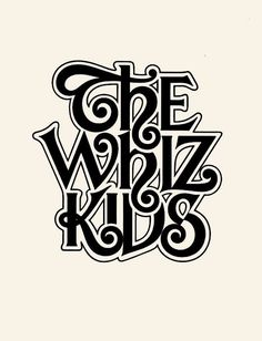 The Whiz Kids Logo Designer: Herb Lubalin
