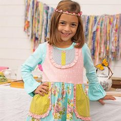 Shrimp and Grits offers a beautiful line of hand-smocked children's clothing inspired by Southern living #zulilyfinds