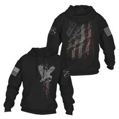 Old Glory Hoodie Grunt Style, Patriotic Outfit, Cool Gear, Cowgirl Outfits, Old Glory, Country Outfits, Sporty Style, Ladies Dress Design, Menswear