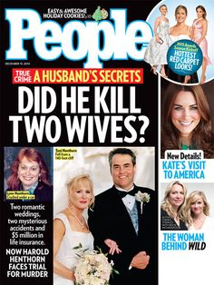 ON NEWSSTANDS 12/5/14: Two mysterious accidents have investigators looking into the 1995 death of a man's first wife. Plus: The woman behind Wild and more!