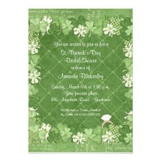 >>>Best          Shamrock Bridal Shower Invitation           Shamrock Bridal Shower Invitation Yes I can say you are on right site we just collected best shopping store that haveThis Deals          Shamrock Bridal Shower Invitation please follow the link to see fully reviews...Cleck Hot Deals >>> http://www.zazzle.com/shamrock_bridal_shower_invitation-161388743051888241?rf=238627982471231924&zbar=1&tc=terrest