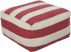 POUF-227: Surya | Rugs, Pillows, Art, Accent Furniture