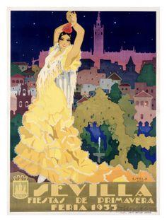 Sevilla Giclee Print by Estela at AllPosters.com