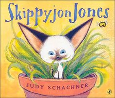 """""""Skippyjon Jones"""" by Judy Schachner - I love this whole series. Creative and excellent on so many levels! #picturebook"""