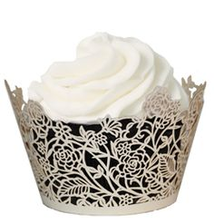 cupcake wrappers with full panel design. Special Occasion.