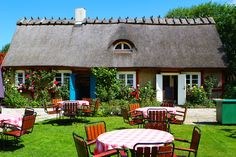 Flickorna Lundgren - a tremendously charming garden cafe and bakery, located just outside of the fishing village Arild.