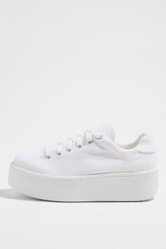 Buy Good Quality Shoes Women CORTEX Studded Flatforms White