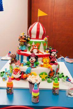 Resultado de imagen para cumpleaños de mickey mouse en el circo