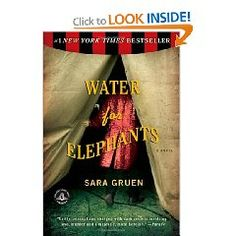 Water for Elephants - Love historical fiction. Book is so much better than the movie.