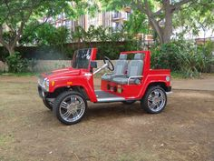 A must see for your success Golf Cart Bodies, Golf Humor, Funny Golf, Custom Golf Carts, Hummer H1, Golf Outfit, Cool Toys, Cool Stuff, Sweet