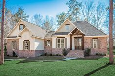 A beautiful French Country home, Plan 041-00171 combines the classic tones with exposed brick creating a unique look all its own. This well crafted 2,239 sq. ft. home comes with 3 bedrooms and 2.5 baths.