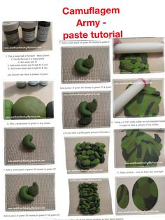 Cameo army cake tutorial