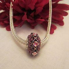 Lovely beaded bead focal
