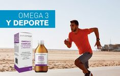 OMEGA 3 PARA EL DEPORTE El ácido graso Omega-3 (EPA) por sus propiedades anti-inflamatorias, ayuda en la práctica deportiva, reduciendo el dolor muscular, previniendo lesiones en músculos, articulaciones y ligamentos.