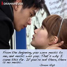 50 K-drama quotes about true love  <3 Dream High    (WOW '0' )