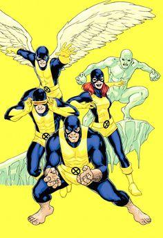 The original X-Men by comicvine