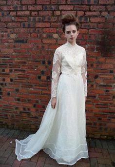 1930s wedding dress -- to alter, perhaps?