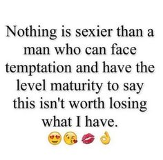 Nothing sexier...
