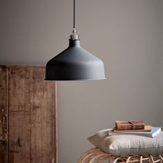 The Kingston pendant oozes of Nordic style and has a minimalistic and classic form, which is tight and modern. At the same time, the decorative detail in brushed steel gives the pendant an industrial expression. Kingston is available in black and white White Industrial, Industrial Style, Nordic Style, Scandinavian Style, Fashion Lighting, Globe Lights, Pendant Lighting, Living Spaces, Modern Design