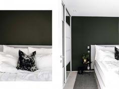 Bedroom│Green marble