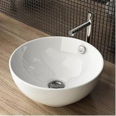 Design Keramik Aufsatzwaschbecken Waschtisch Waschschale Waschplatz Für Badezimmer Gäste Wc A87