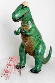 Oversized Inflatable T-Rex... I will get one!!