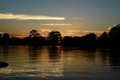 Sunset in Amazonas, Brazil