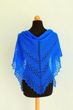 June Bunnies free shawl knitting pattern