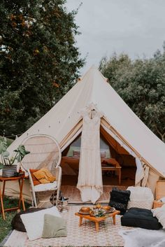 The Best Gl&ing Spots in Australia | Qantas Travel Insider | Bell tents | Pinterest | Gl&ing In and The ou0027jays & The Best Glamping Spots in Australia | Qantas Travel Insider ...