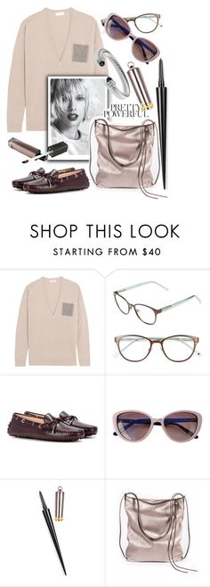 """Casual"" by grinevagh ❤ liked on Polyvore featuring Brunello Cucinelli, Kate Spade, Tod's, Derek Lam, Christian Louboutin, Ina Kent and David Yurman"
