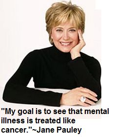 Former Dateline NBC host Jane Pauley wrote about her bipolar disorder and hospitalization. Jane Pauley, Bipolar Awareness, Mental Illness Awareness, Hair Styles 2016, Short Hair Styles, People With Bipolar Disorder, Metal Health, Mental Health Stigma, Girl Celebrities